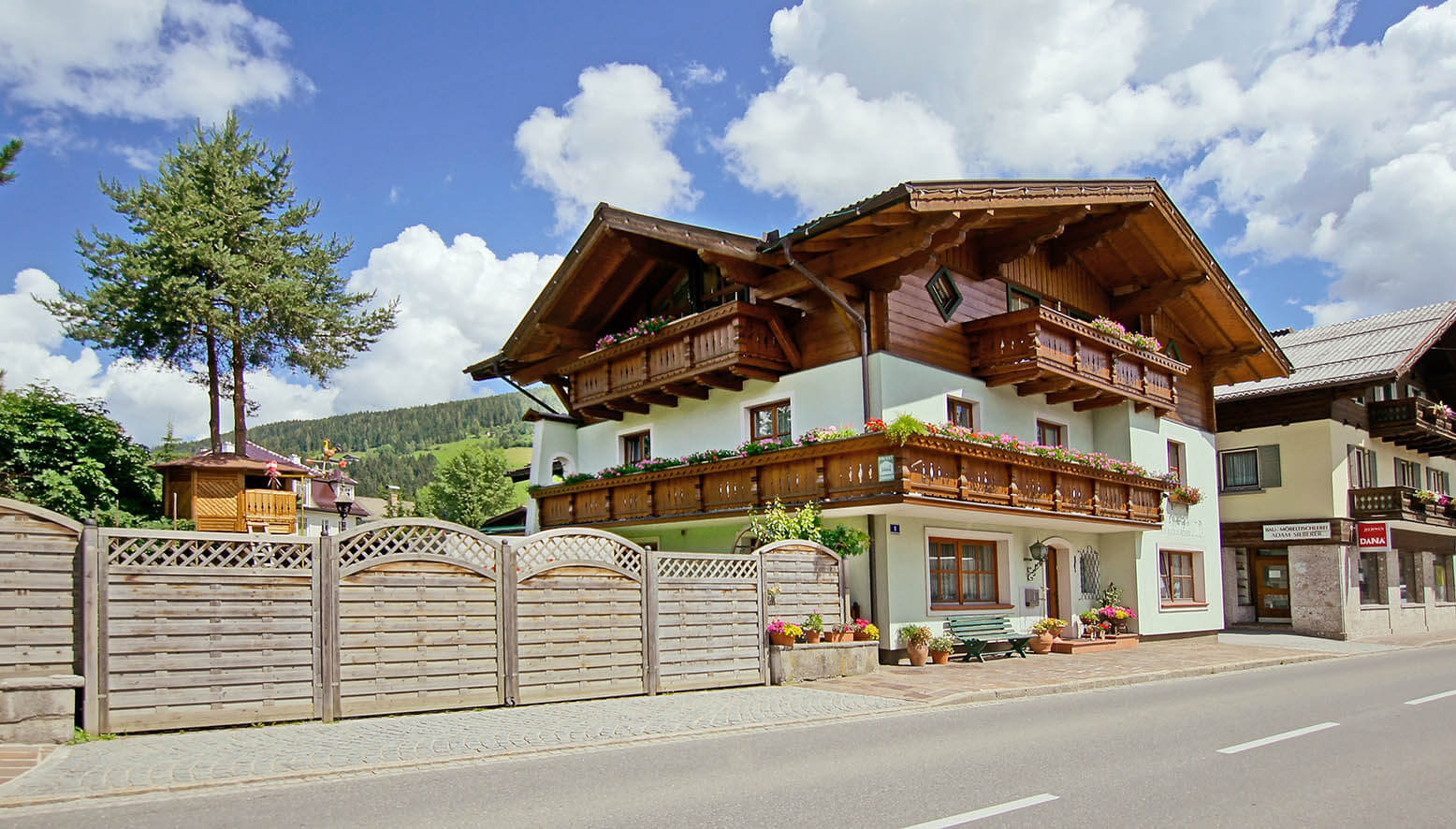 Ferienhaus Radlmacher - Ferienwohnung in Altenmarkt - Zauchensee
