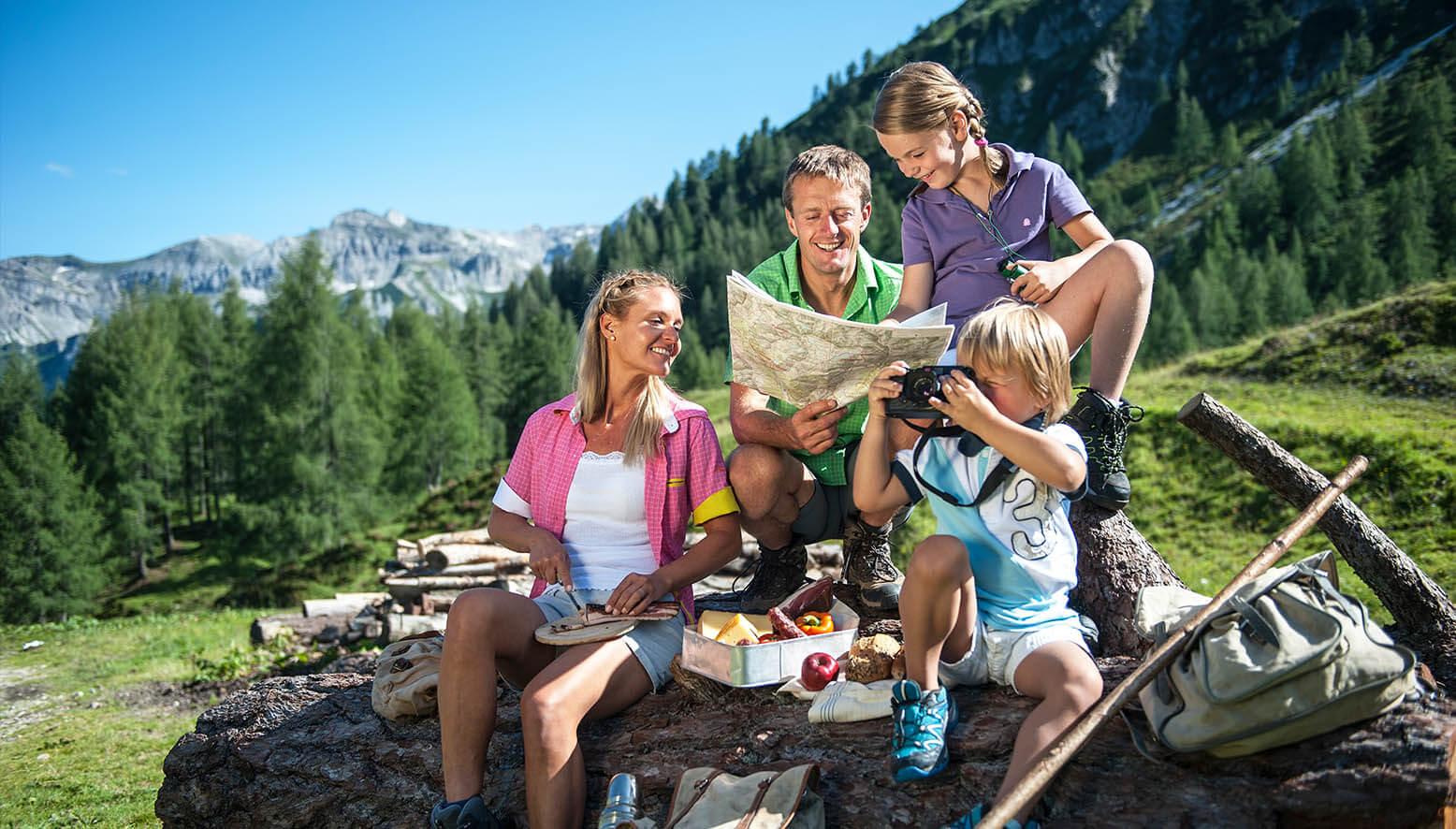 Sommerurlaub in Altenmarkt - Zauchensee / Haus Radlmacher